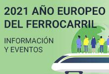 2021 ¡El Año Europeo del Ferrocarril!