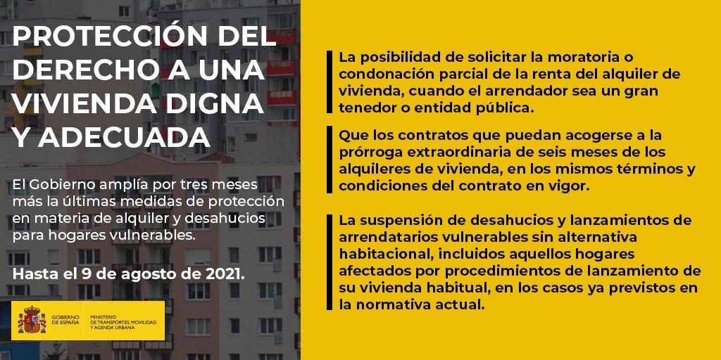 Protección del derecho a una vivienda digna y adecuada